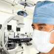 Surgeon in modern operation room - Stock Photo