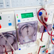 Arlificial kidney (dialysis) device - Stock Photo