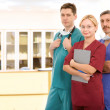 Stock Photo: Young medical team