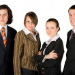 Young friendly business team — Stock Photo
