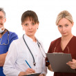 Successful medical team — Foto Stock