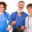 Stock Photo: Smiley medical team
