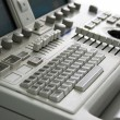 Medical device keyboard - Stock Photo