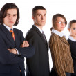 Young business team — Stock Photo #6096787
