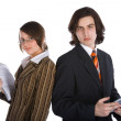 Stock Photo: Young successful business team