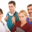 Successful medical team — Stock Photo #6097008