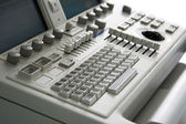 Medical device keyboard — Stock Photo