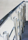 Stair with railing — Stockfoto