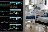 Monitoring in ICU — Stock Photo