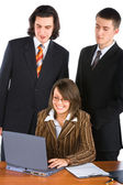 Young business team — Stockfoto