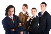 Purposeful business team — Stock Photo
