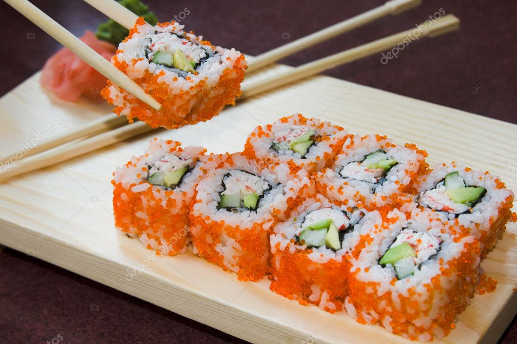 Как приготовить суши калифорнию в домашних условиях рецепт с фото