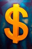 US dollar symbol — Stock Photo
