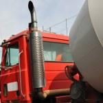 Concrete mixing truck — Stockfoto #5908947