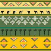 Diseño étnico africano — Foto de Stock