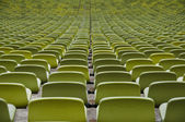 Empty seats of a sport stadium — Stock Photo