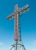 Holy cross monument — Stock Photo