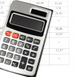Calculator and account - Photo