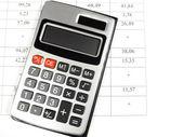 Calculator and account — Stock Photo