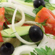 Salad close-up — Stock Photo