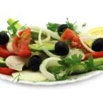 Salad close-up — Stock Photo