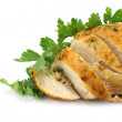 Chicken filet close-up - Foto Stock