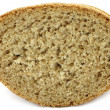 Piece of bread close-up - Foto Stock