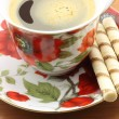 Cup of coffee with cookies - Foto Stock