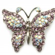 Butterfly brooch - Foto Stock