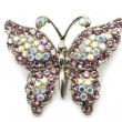 Butterfly brooch — Stockfoto