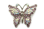 Butterfly brooch — 图库照片
