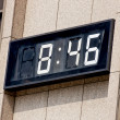 Stock Photo: Digital clock