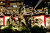 Une sculpture de dragon — Photo