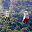 Aerial cable car — Stock Photo