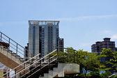 ガラスの高層ビル建物 — ストック写真