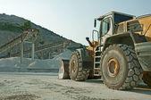 Quarry and Bulldozer — Stock Photo