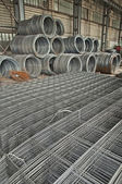 Reinforcing steel — Stock Photo