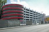 Modern five level parking garage — Stock Photo