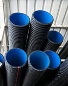 Black pipes — Stock Photo