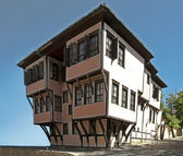 Old stile house. Traditional bulgarias old time house. — Stock Photo