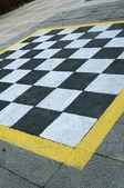 Chess platform — Stockfoto