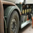 Stock Photo: Fuel truck close up