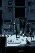 Airline Cockpit — Stock Photo