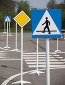 Road signs 2 — Stock Photo