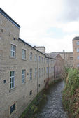 Old Mills and Hebble Brook — Stock Photo