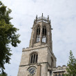 All Saints Pavement Church Tower - Stock Photo