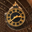 Antique Railway Station Clock — 图库照片 #6049106