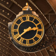Stockfoto: Antique Railway Station Clock