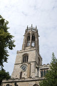 All Saints Pavement Church Tower — Stock Photo