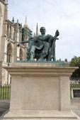 статуя императора константина — Стоковое фото